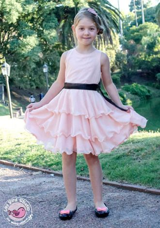 Maddie's Dress - 12 months to 8 years | YouCanMakeThis.com