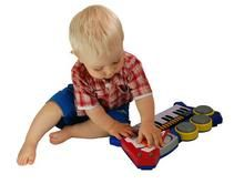 We sell musical toys and instruments for kids!