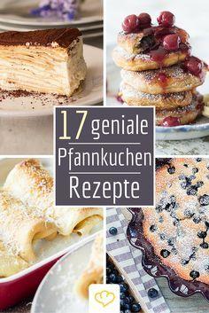Locker-fluffig müssen sie sein! Hier kommen unsere besten Pfannkuchen-Rezepte. Von herzhaft bis süß - von mit Käse und Schinken gefüllten Crespelle bis zur Pfannkuchen-Layer-Torte - hier ist für jeden Feinschmecker etwas dabei!