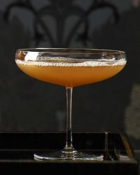Drink Recipe: Sidecar. INGREDIENTS: Ice, 1 1/2 ounces chilled VSOP Cognac, 1/2 ounce Grand Marnier, 1/3 ounce fresh lemon juice. Fill a cocktail shaker with ice. Add the Cognac, Grand Marnier and lemon juice and shake well. Double strain the drink into a chilled coupe.