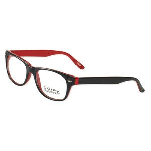 pomy eyewear ladies rx able frames black red my new glasses