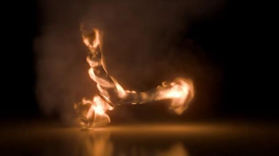 My main theme of this work is to show the true beauty flames by fluid simulation.I animated the spinning break dancer and expressed the dance of flames.Directed by Toru HayaiSound by Akihiro Morita2009 Taiyo Kikaku Co.Siggraph2009 Juried Films