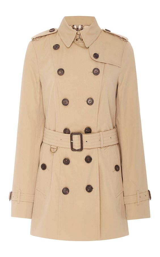 BURBERRY Sandringham Double Breasted Trench Coat. #burberry #cloth #coat