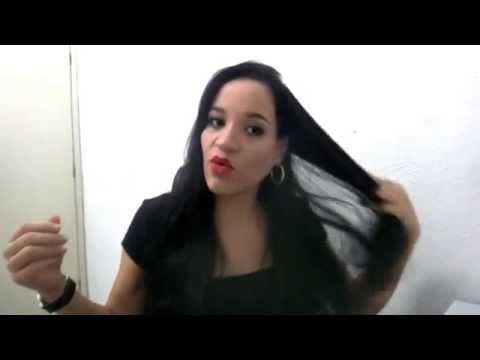 Nutrição caseira para queda de cabelo | Tannia Glam - YouTube