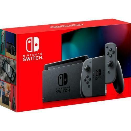 Nintendo Switch With Gray Joy Con Controllers 6 2 Multi Touch Display Inclu Nintendo In 2020 Nintendo Switch System Nintendo Switch Package Nintendo Switch