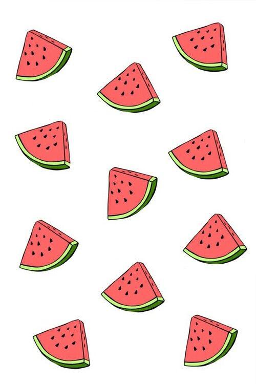 Watermelon wallpaper Wallpaper for iPhone Pinterest