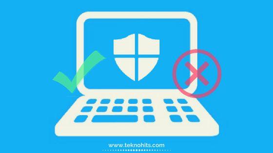 Cara Mengaktifkan Amp Menonaktifkan Windows Defender Permanen Windows 10 Windows