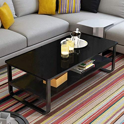Best Seller Ketteb Modern Home Coffee Table 2 Tier Cocktail Table