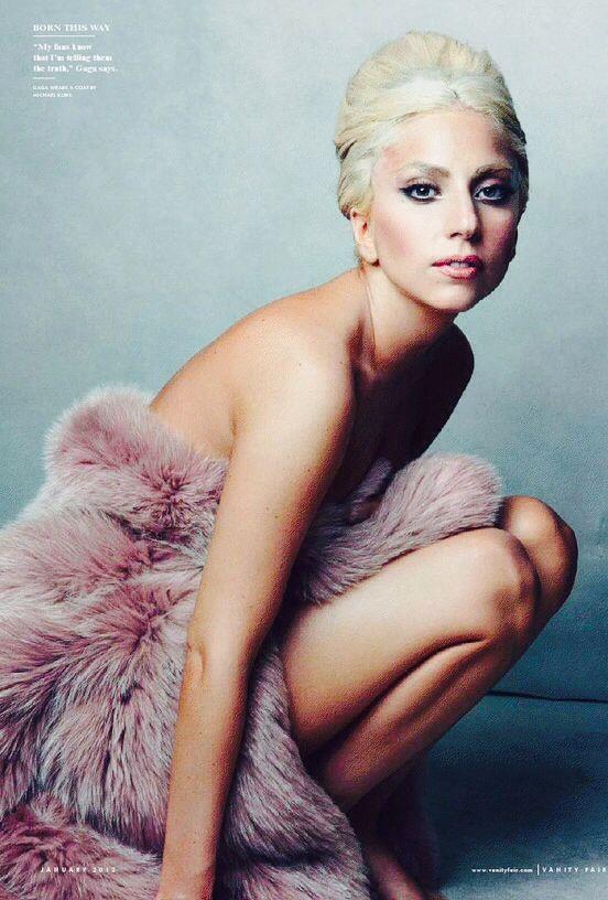 Lady Gaga Fashion Editorial Born This Way  for Vanity Fair