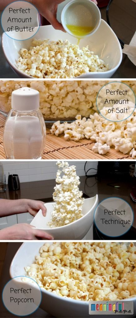 how to put butter on popcorn