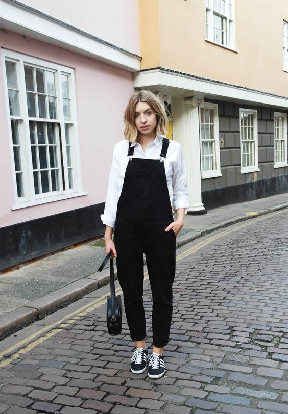 Dungarees have been a staple in my wardrobe for years, easy and quick to style what's not to love? Much to my surprise though they are still marmite amongst the fashion conscious, I've received mixed reviews on them on past Instagram posts whilst I could rave about them forever it seems oth