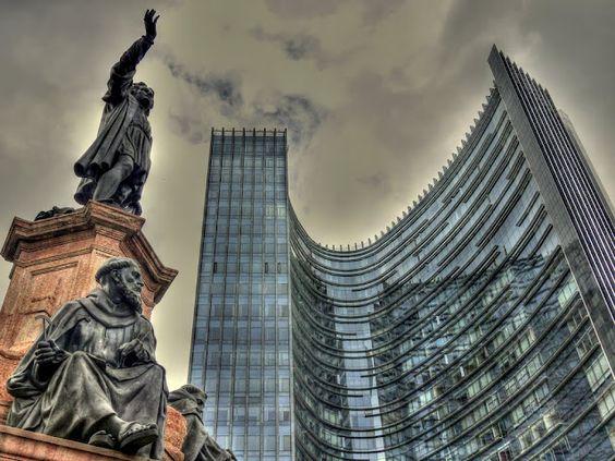 1950´s Architecture REforma Avenue Mexico City