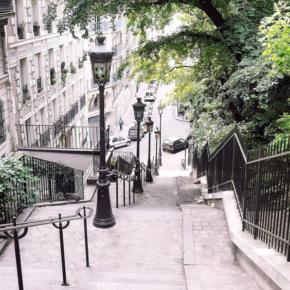 Steps of Monmartre, Paris