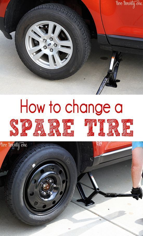 Car Series Spare Tire How To Change The Tire Flat Tire Car