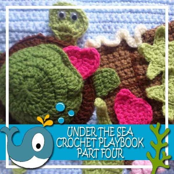 Crochet Quiet Book : Creative Crochet Workshop: My Under The Sea Crochet Playbook Part 4