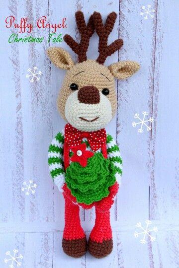 Easy Christmas Amigurumi : Crochet reindeer inspiration amigurumi christmas