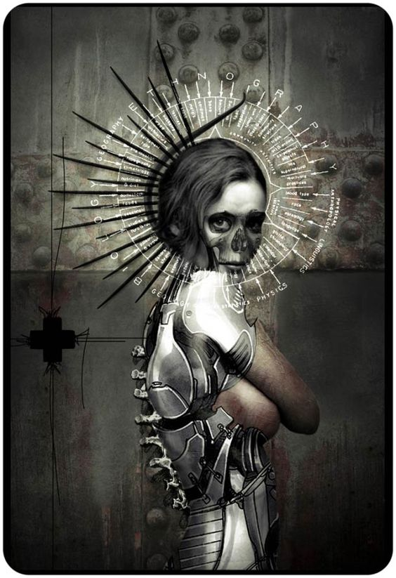 """""""Zombie Burlesque"""" is a series of macabre pin-up created ??by the French artist Angel Roy"""
