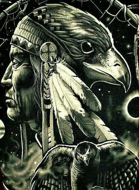 Spirit Guides, Native American Art