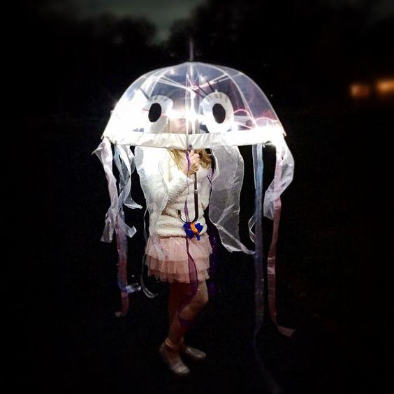 Happy Halloween!  #jellyfish #halloween #diyhalloween