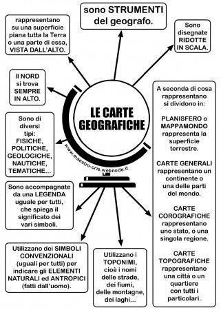 MAPPA CARTE GEOGRAFICHE