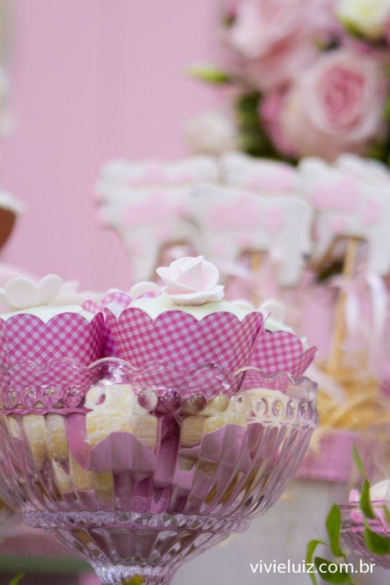 festa fazendinha rosa