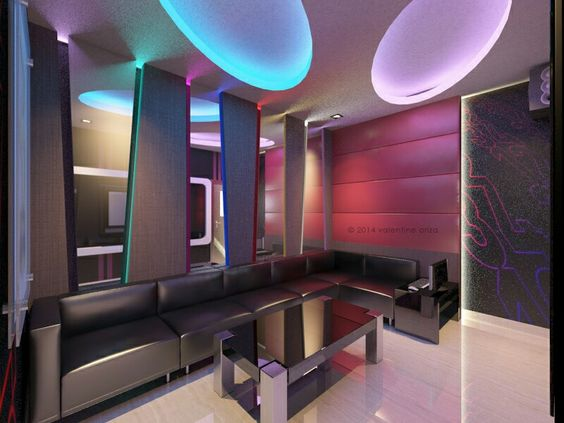 Home karaoke room design