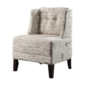 Poundex Bobkona Prissy Accent Chair F1586 Fabric Accent Chair