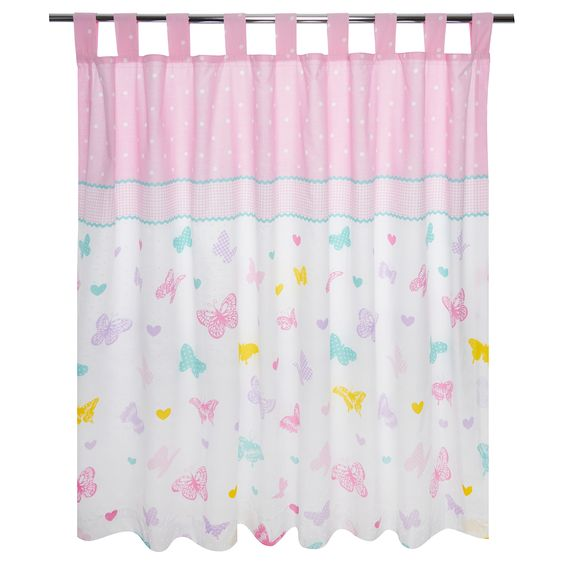 George Home Butterfly Curtains - W66 x L54 in | Curtains | ASDA ...
