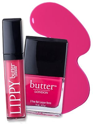 #ButterLondon's newly-launched lip gloss line at #Ulta includes five colors that match the brand's nail lacquers perfectly! http://news.instyle.com/2012/03/08/lippy-butter-london-matching-nail-lip-colors/