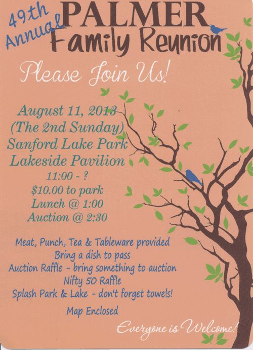 family reunion Flyers - Bing Images crafts Pinterest Family - family reunion invitation template