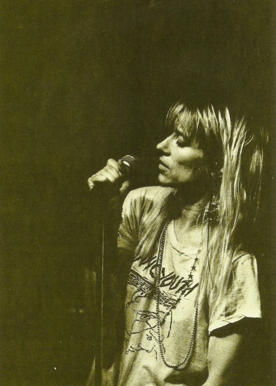 Kim Gordon (Sonic Youth) - Scanned by Betheriel