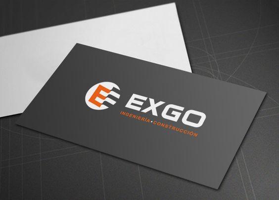Diseño de logotipo para Exgo, una empresa de ingeniería mexicana dedicada al desarrollo de de proyectos de ingeniería especializada y construcción Civil e industrial. Nuestro cliente buscaba una imagen sólida, rotunda, que transmitiera la percepción de una gran compañía líder en su sector.