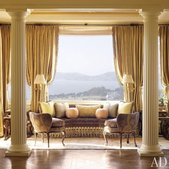 Neoclassical style apartment in San Francisco