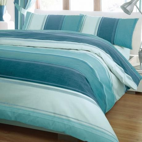 Finley Teal Bed Linen Collection