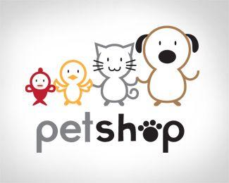 Logo Design - Petshop   pet shop   Pinterest   Logos, Logo ...