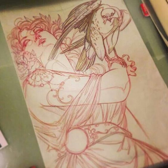Jeff Gogue mother nature tattoo huge back piece (i would TOTALLY get  this)