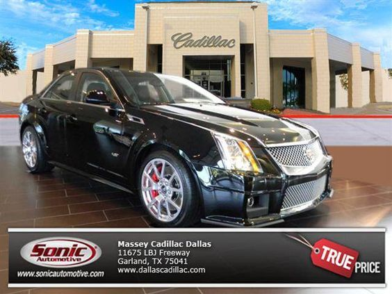 New 2014 CADILLAC CTS-V in Black Raven For Sale   Dallas, Plano, Garland TX.