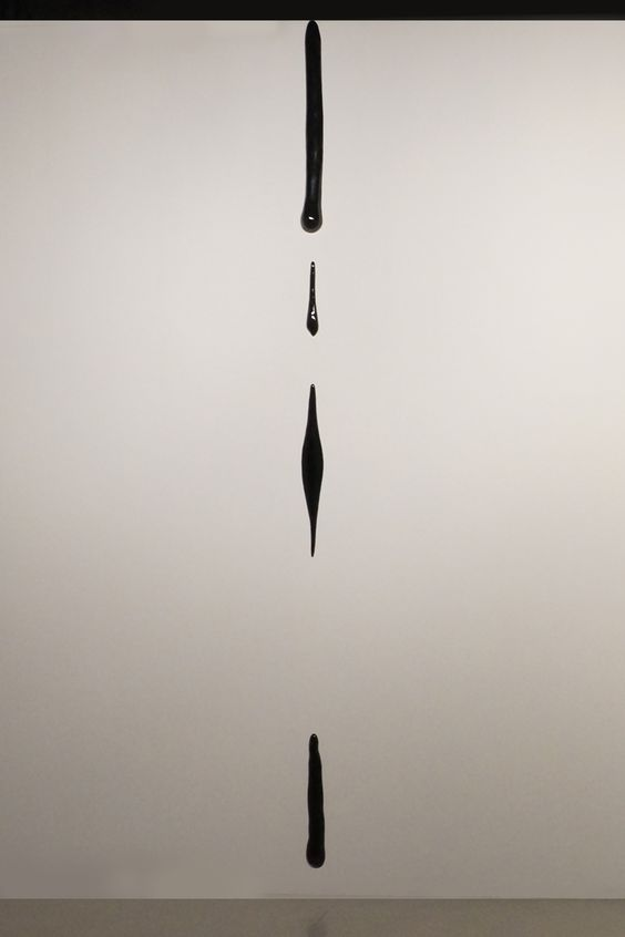 Liu Jianhua, 'Trace', 2011, porcelain with glaze. Installation at Shanghai MoCA…