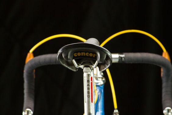 Basso Gap Road Bike 54cm Vintage Campagnolo Nuevo Record Blue 700c Campy Classic