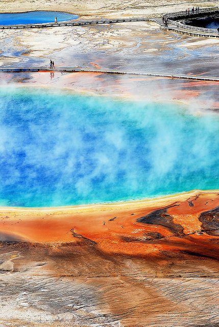 Gran Fuente Prismática, Yellowstone, Estados Unidos
