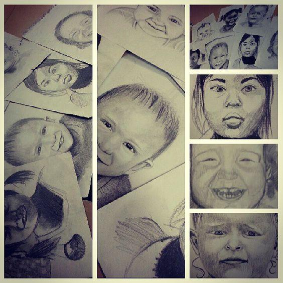 my year 12 major for visual arts #hsc #visualarts #drawing ...