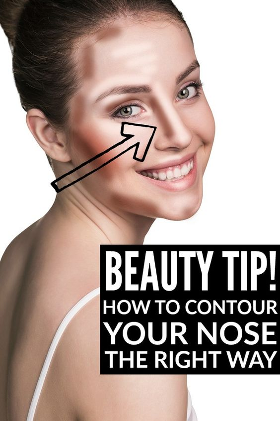 Whether you were blessed with a big nose, a small nose, a crooked nose, a bulbous nose, or a flat nose, this tutorial will teach you how to make your nose look smaller and/or more symmetrical with contouring and highlighting techniques so you don't have to suffer through the pain and expense of a nose job.