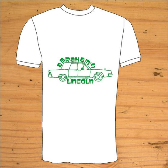 Abraham Lincoln Vintage T Shirt  Hand Drawn by snolbertogoster, $18.00