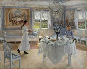 Portrait Painting by Fanny Brate Swedish Artist