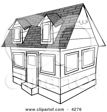 Pin By Gabe Maxson On Simple Pleasures Clip Art Line Drawing House Clipart