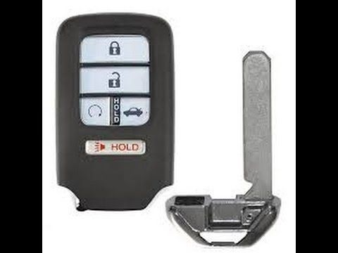Honda Key Fob Battery Replacement Honda Key Honda Key Fob