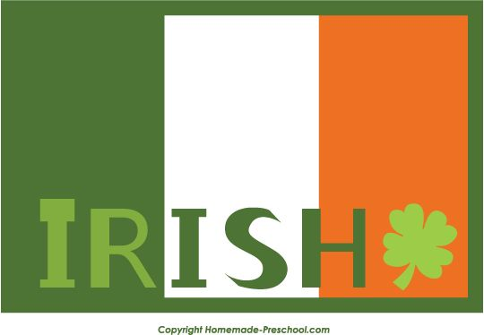 irish flag color