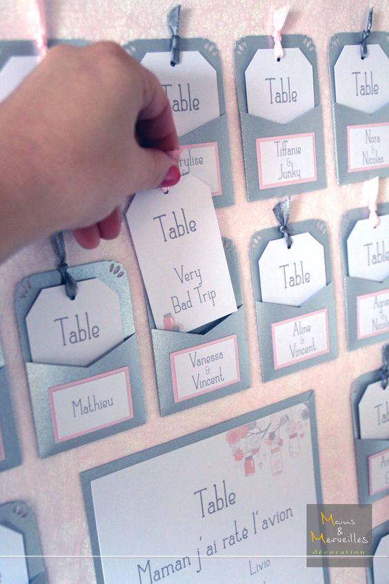 Plan de table argent rose poudr mains et merveilles d coration mariage pinterest - Deco mariage rose poudre ...
