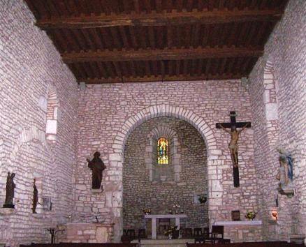 Alise-Sainte-Reine Saint-Leger interieur - Alise-Sainte-Reine – Wikipedia — Foto Maryse Rozerot