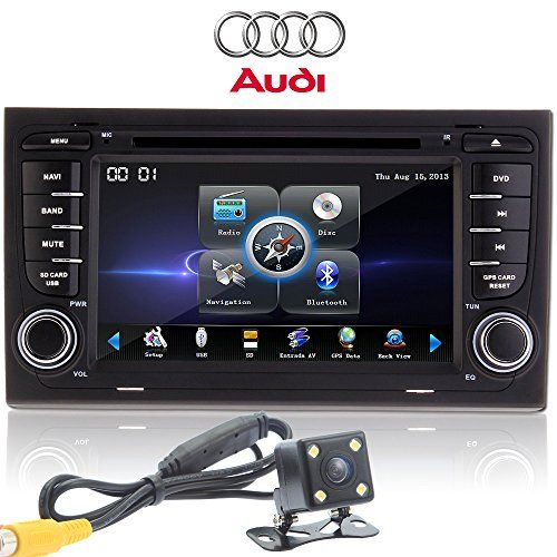 "OUKU®Rear Camera+7"" Double Din Inch Auto DVD Car GPS Navigation Radio for Audi A4 2002 2003 2004 2005 2006 2007 2008 with Car EntertaInch ment System SteerInch g Wheel Control+Free GPS Map Card+Free GPS Map+Free Backup Camera - http://www.productsforautomotive.com/oukurear-camera7-double-din-inch-auto-dvd-car-gps-navigation-radio-for-audi-a4-2002-2003-2004-2005-2006-2007-2008-with-car-entertainch-ment-system-steerinch-g-wheel-controlfree-gps-map-card/"